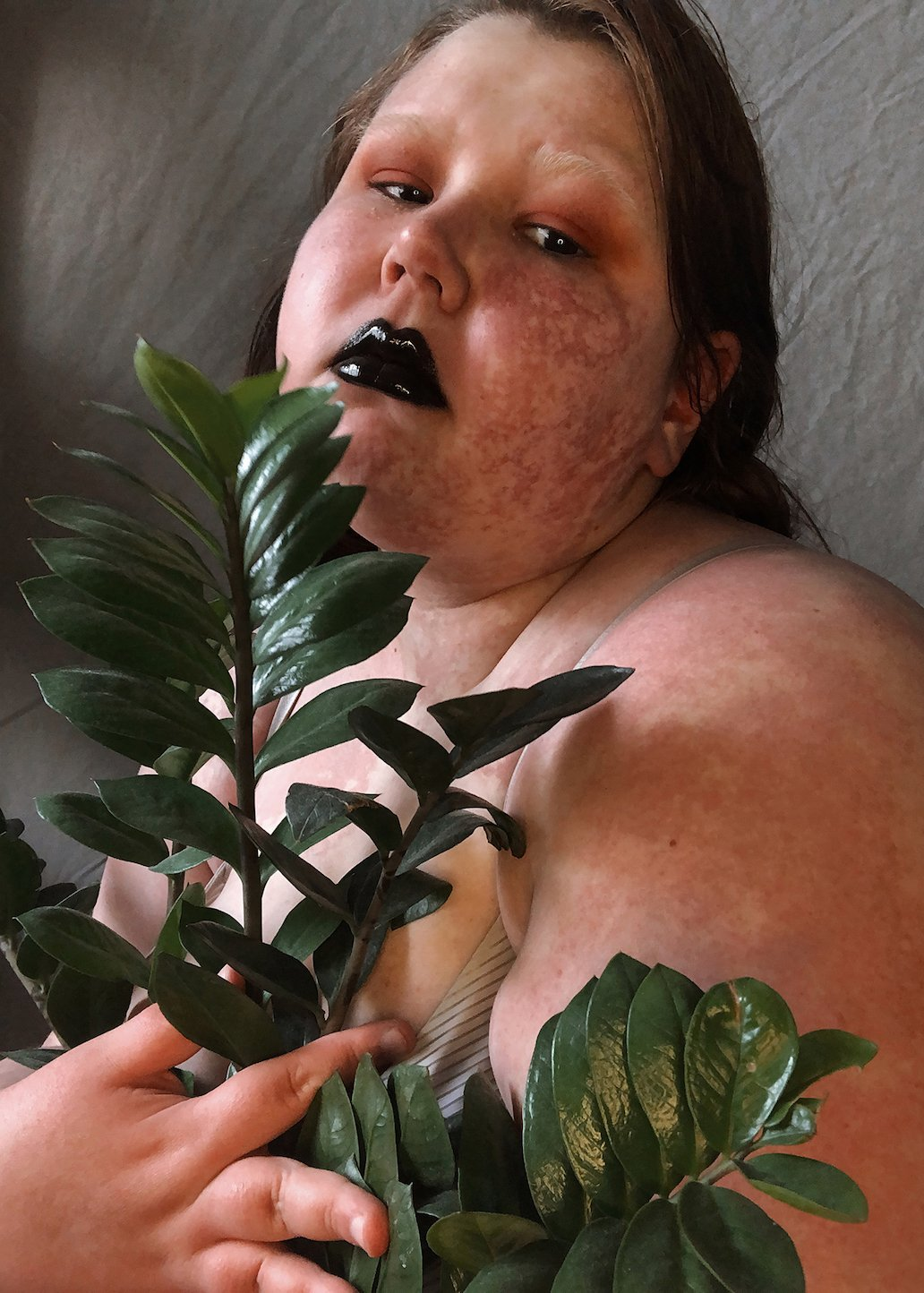 <p><b></b></p>  <p><span>This is a self-portrait by Miliyollie, a body-positivity activist and photographer based in St Petersburg. Miliyollie's work pushes back against the rigid boundaries of Russia's conservative patriarchy, documenting the country's body-positive, feminist, and queer communities, and proving that all bodies deserve equal respect and representation. </span></p>