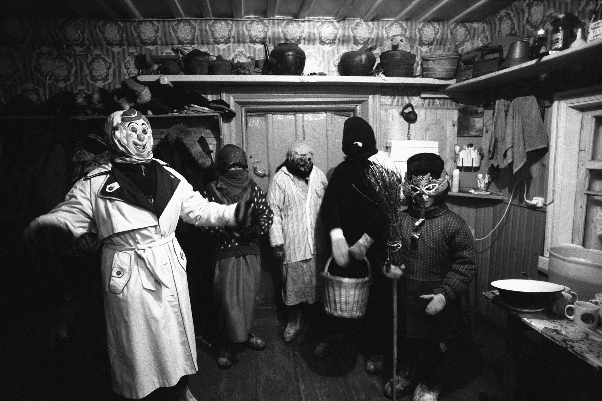 The Mummers, village of Pogost, Pudozh district, Karelia, Russia (2009)