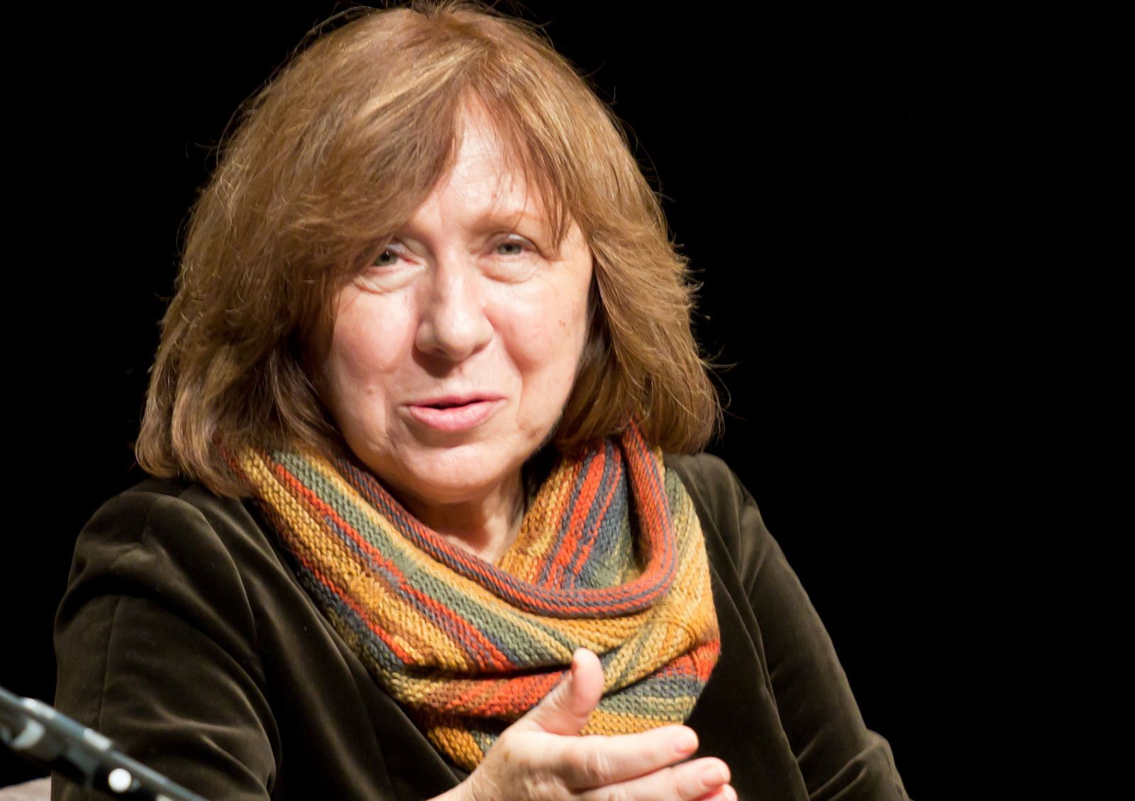 'First they stole our country, now they're abducting the best of us.' Svetlana Alexievich writes open letter