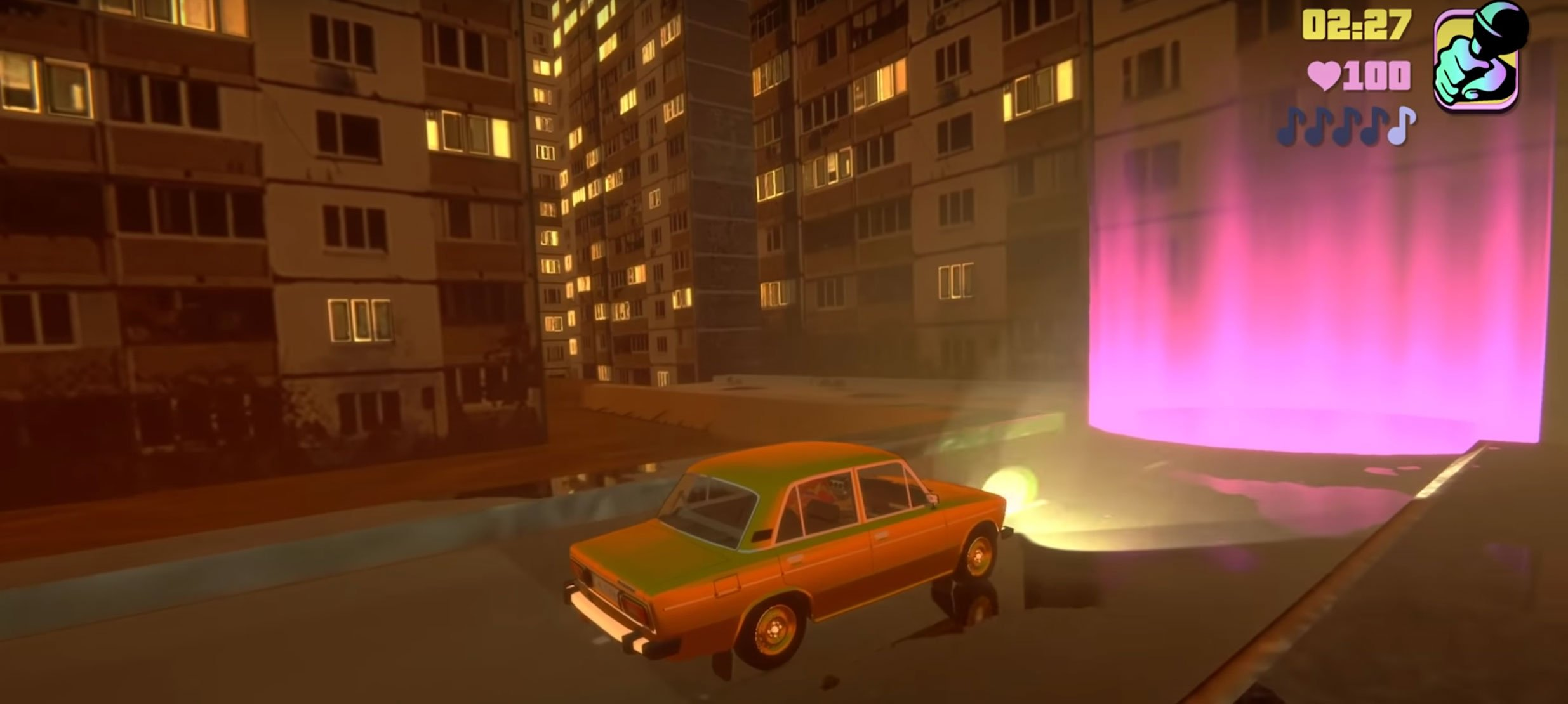 Alyona Alyona shows us what Grand Theft Auto in Eastern Europe would be like