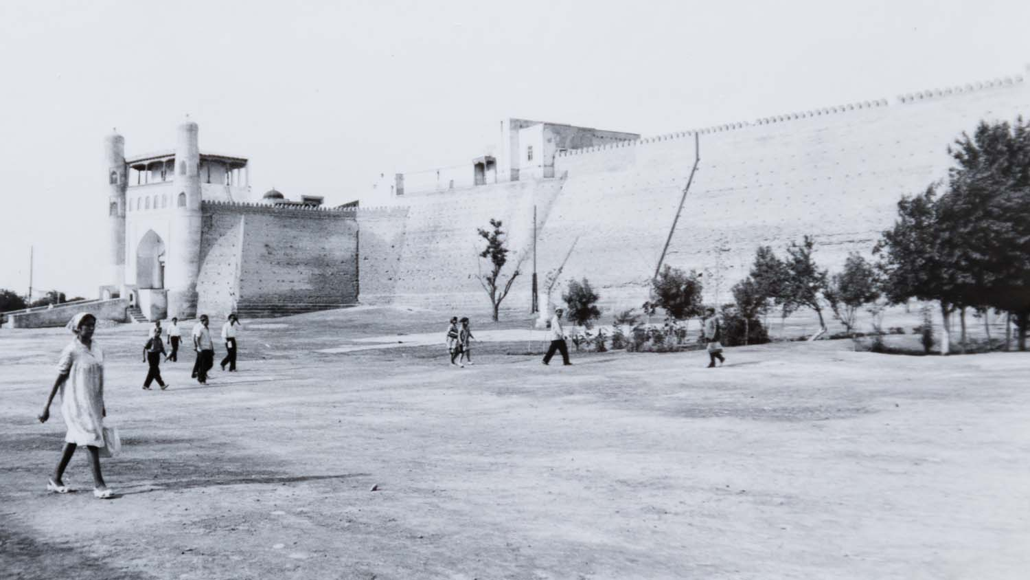 The Ark of Bukhara in 1971