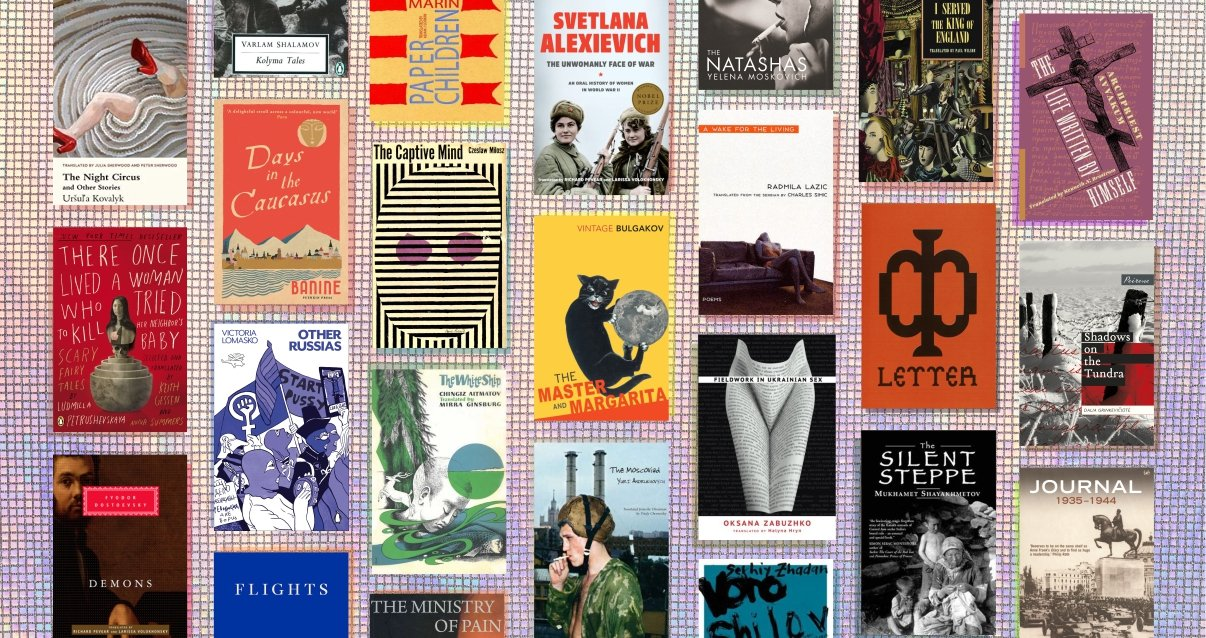 100 books to read from Eastern Europe and Central Asia