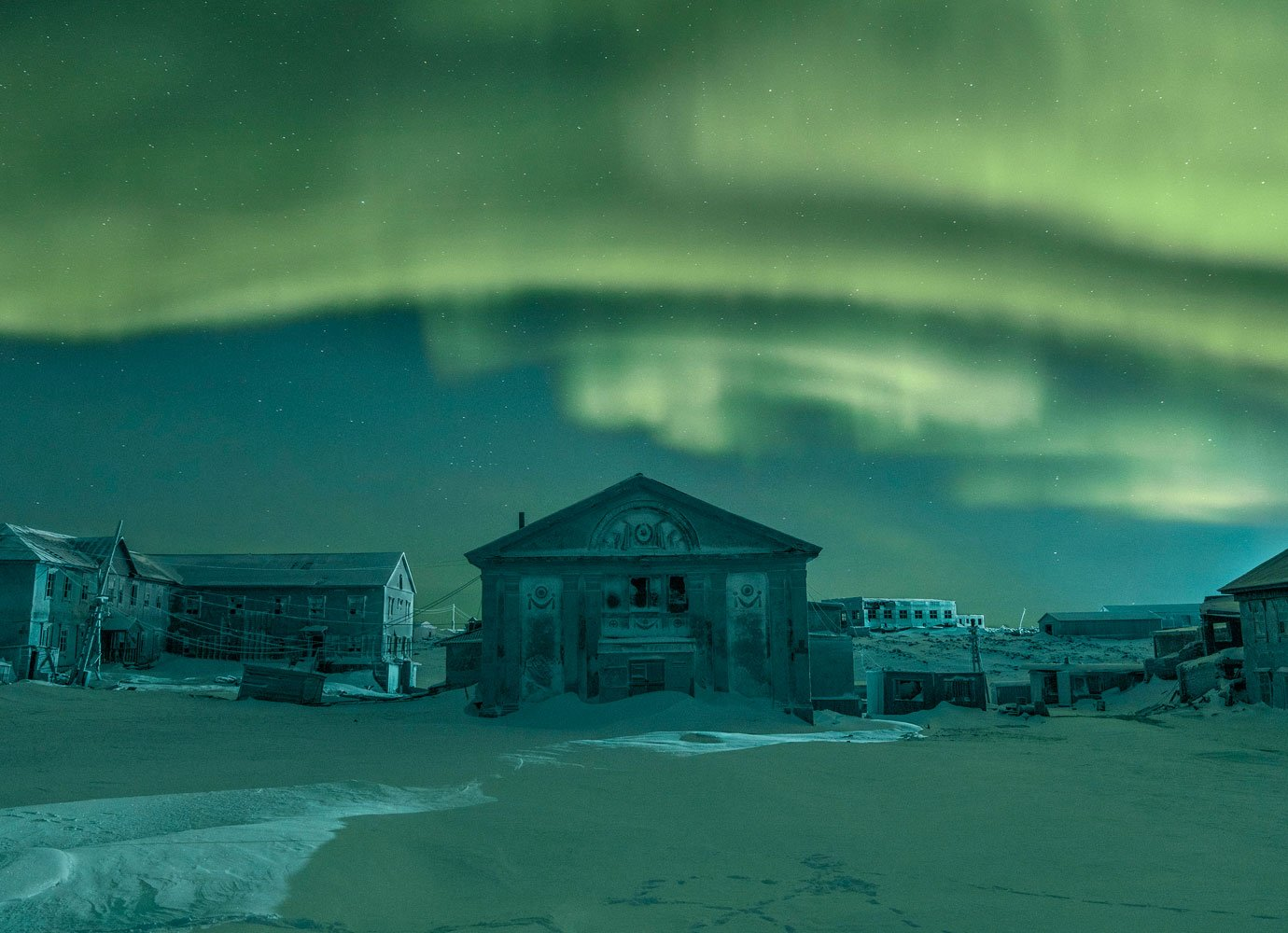 Behind photographer Evgenia Arbugaeva's dreamlike vision of the Russian Arctic