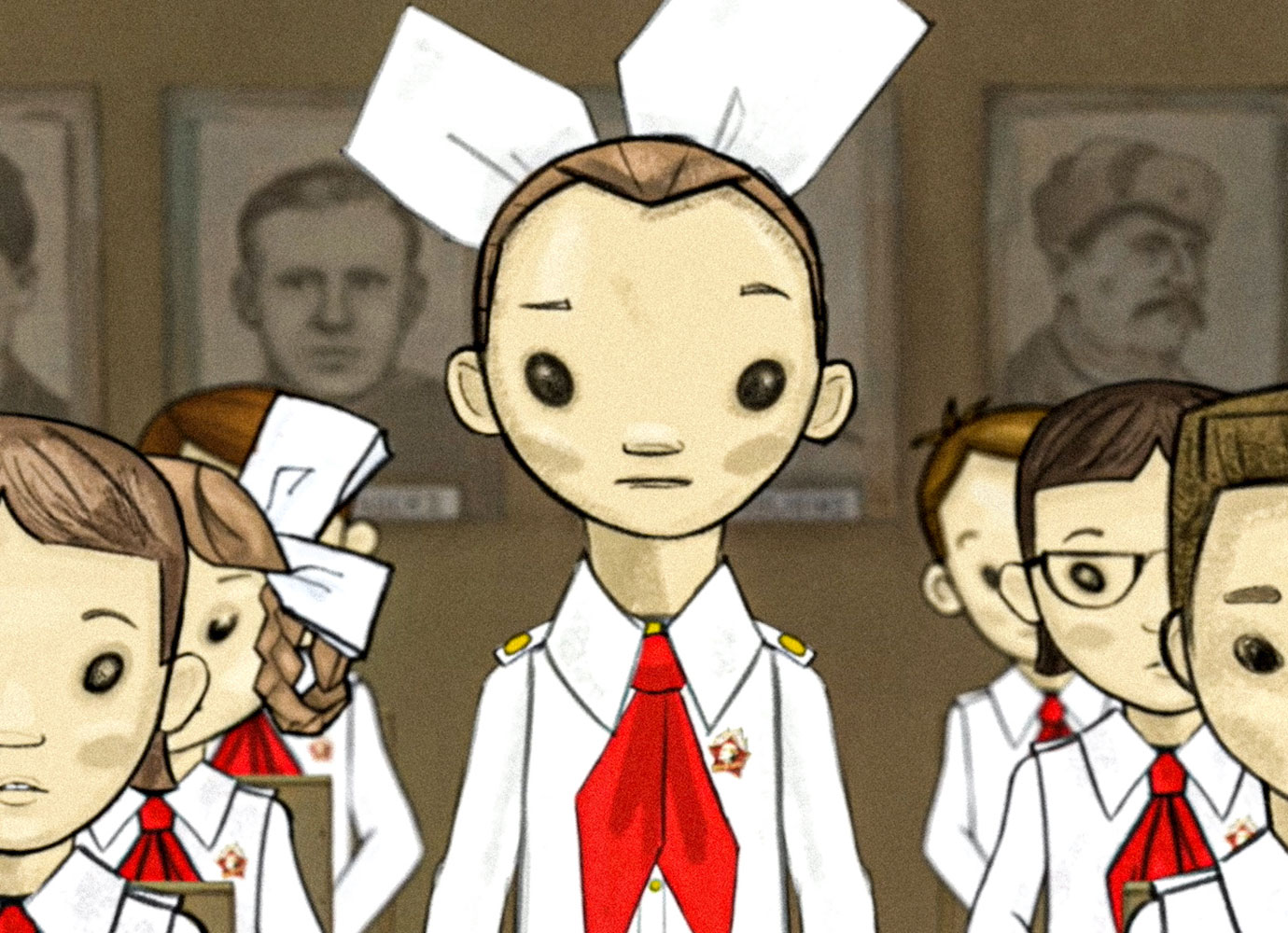 My Favorite War: the animated memoir on growing up in Cold War Latvia