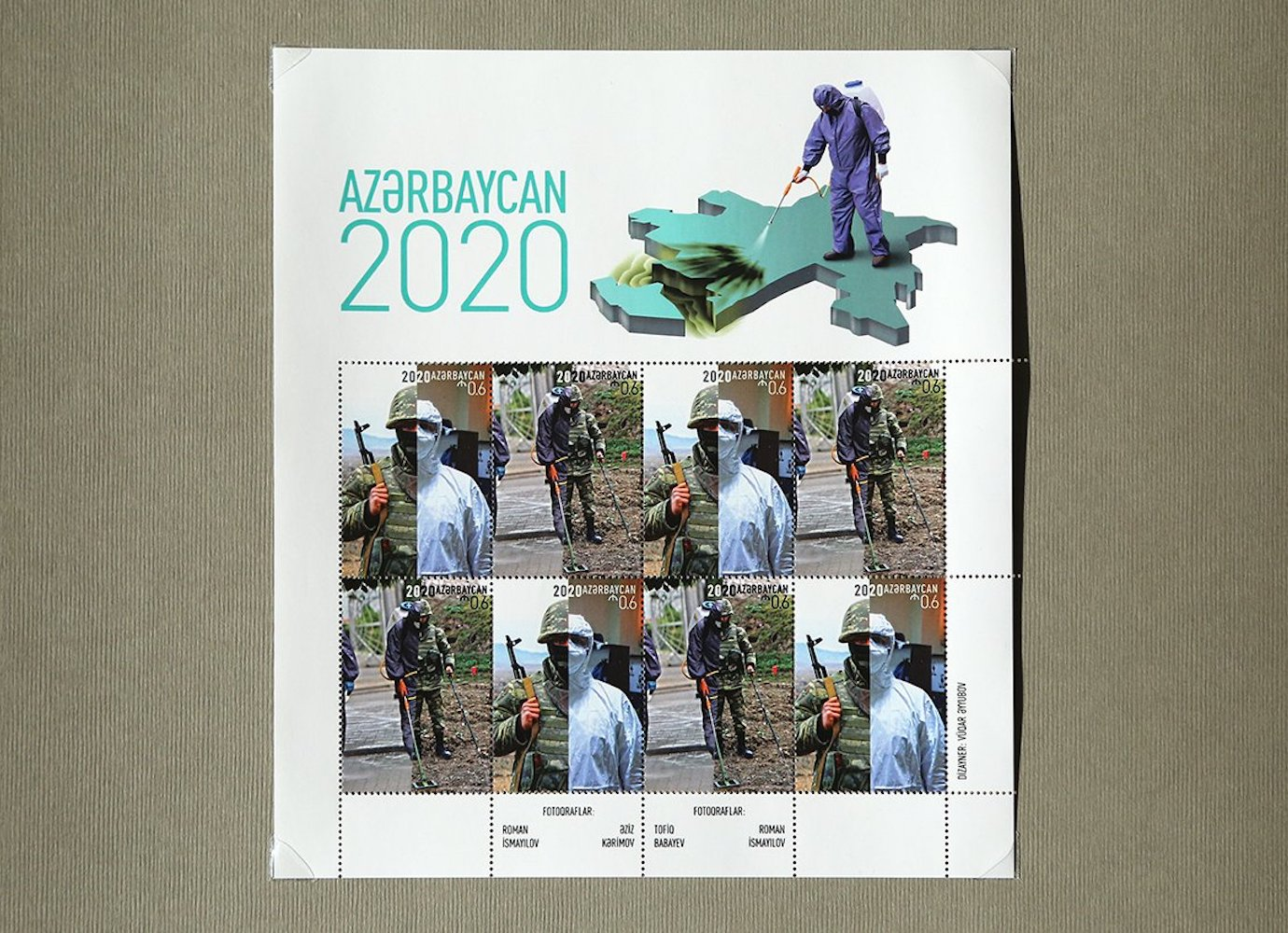 Azerbaijani postal stamps accused of spreading anti-Armenian propaganda