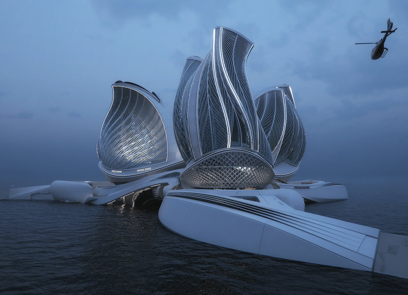 The 8th Continent: Slovak designer wins top prize for ocean station prototype that removes plastic from the sea