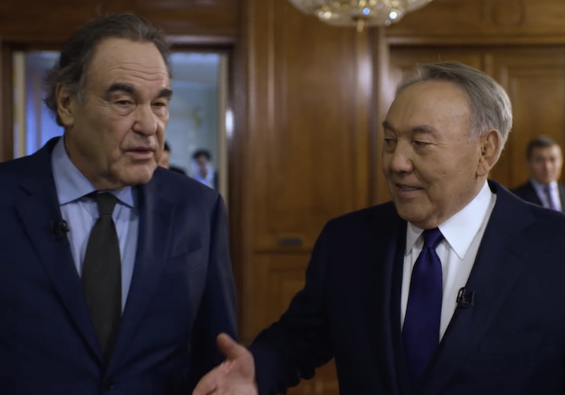 Oliver Stone's lavish Nazarbayev documentary is just the latest blow to independent Kazakhstani filmmakers