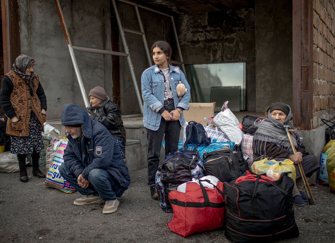 'People told me this wasn't a job for women': photojournalist Anush Babajanyan on documenting the Nagorno-Karabakh conflict