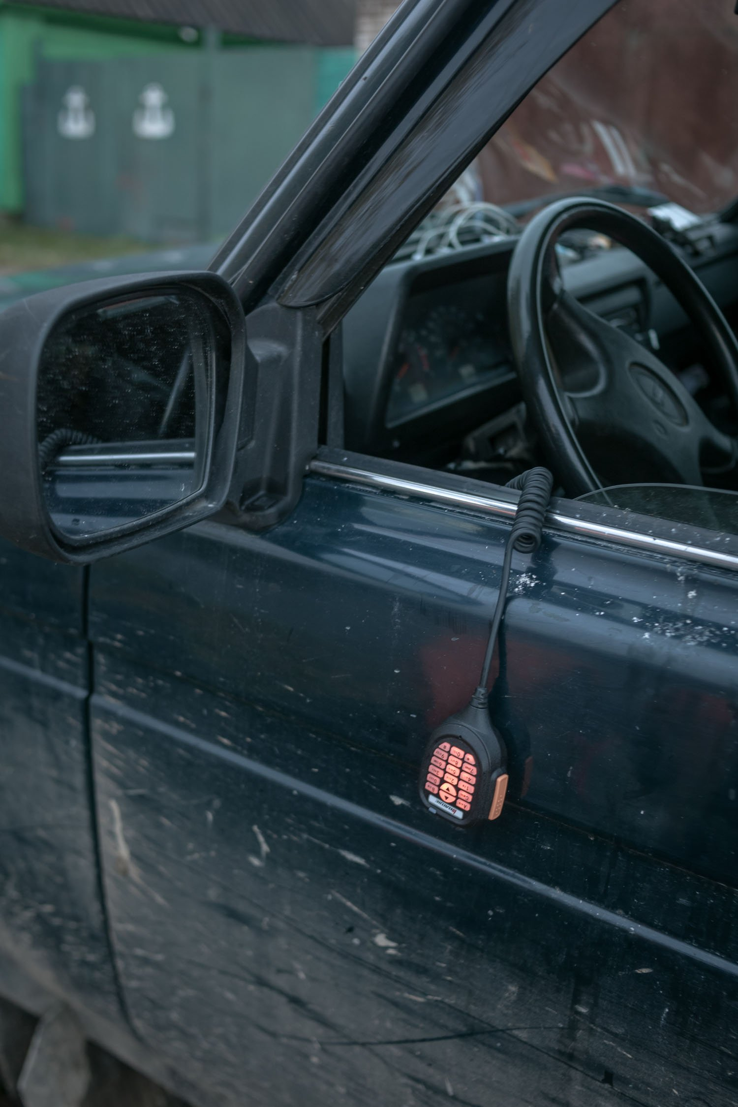 The car radio provides a larger coverage of signal reception.
