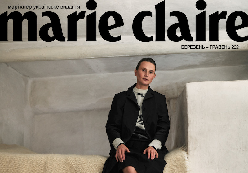 Marie Claire Ukraine heralds a new era by switching from Russian to Ukrainian