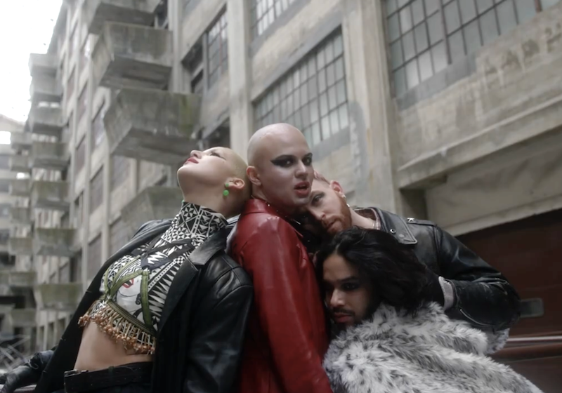 Matvey Cherry's latest music video is an ode to queer self-expression
