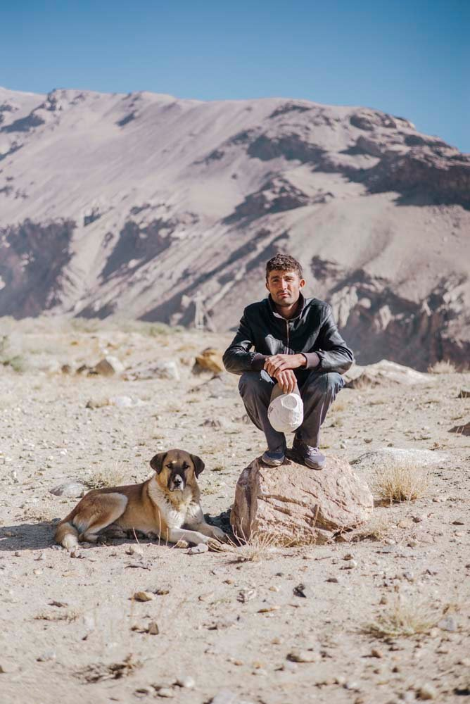 A man close to the Wakhan Valley