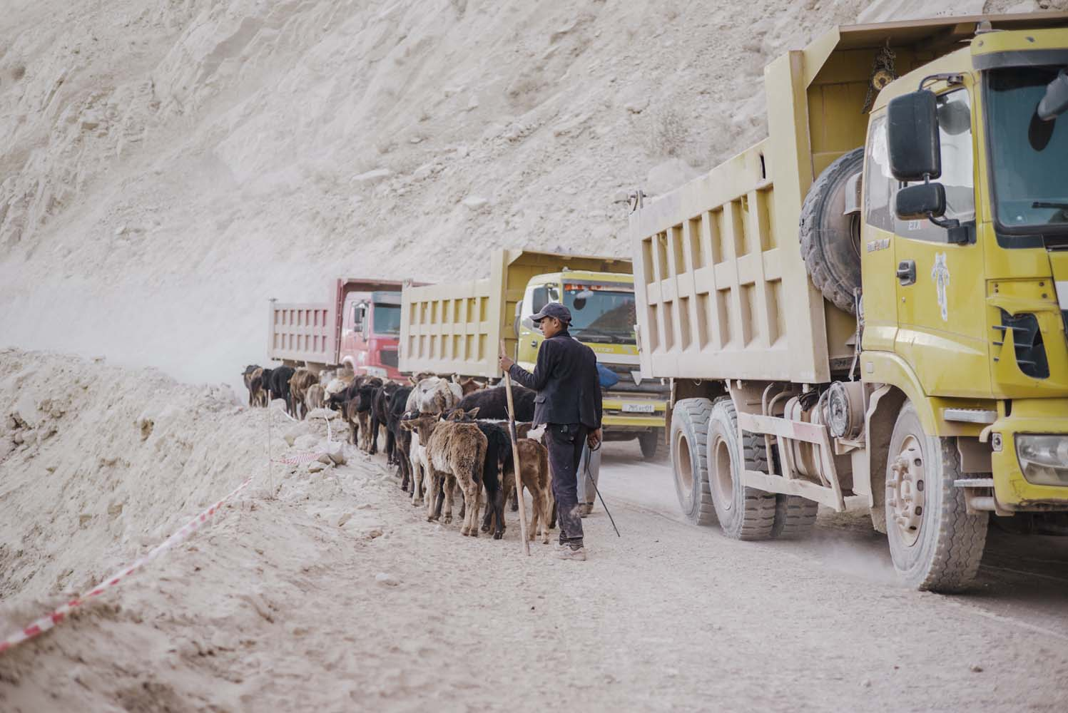 Chinese money is being used to build the New Silk Road