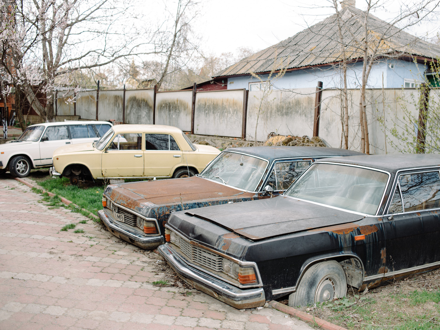 The Baron's collection of Soviet-era cars