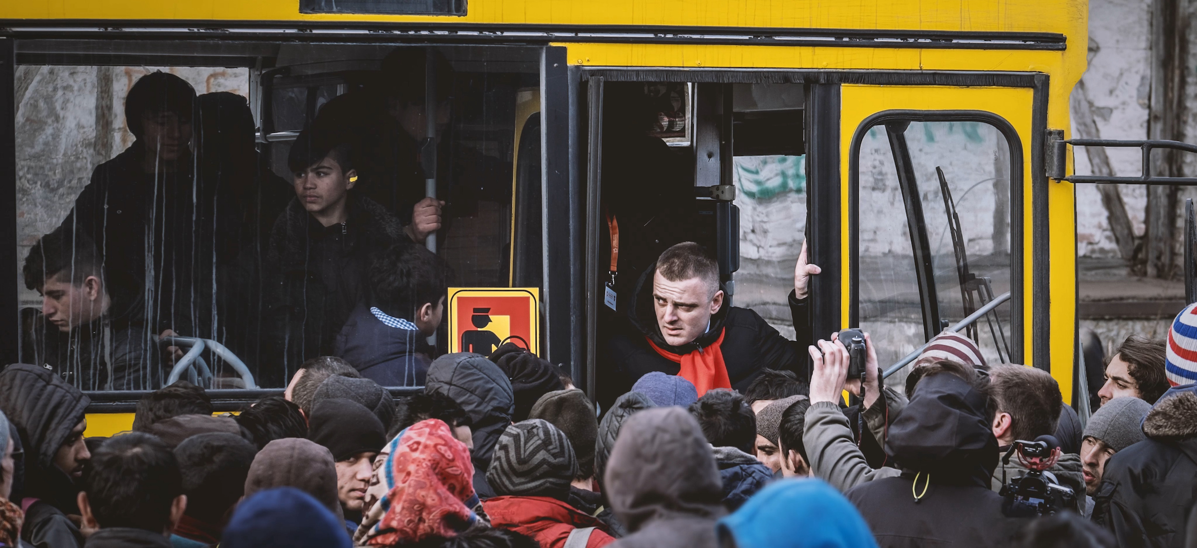 Routes: a humanising look at migrants' journeys across the Balkans
