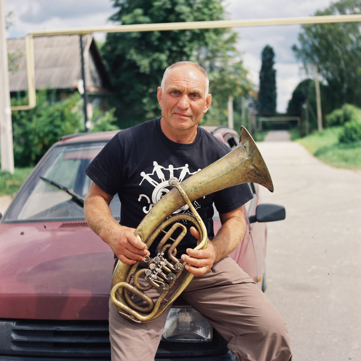 Nikolai Demin, musician, member of a military orchestra, and jazz lover