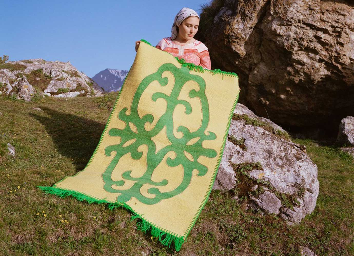 In Ingushetia, young women are reclaiming the threads of an ancient artform