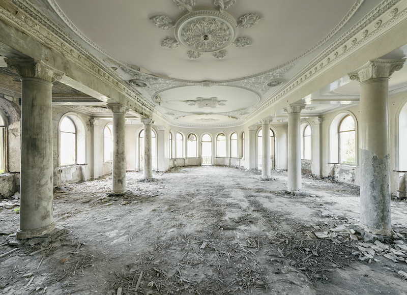Marvel at the abandoned neoclassical sanatoria nestled in a Georgian spa town