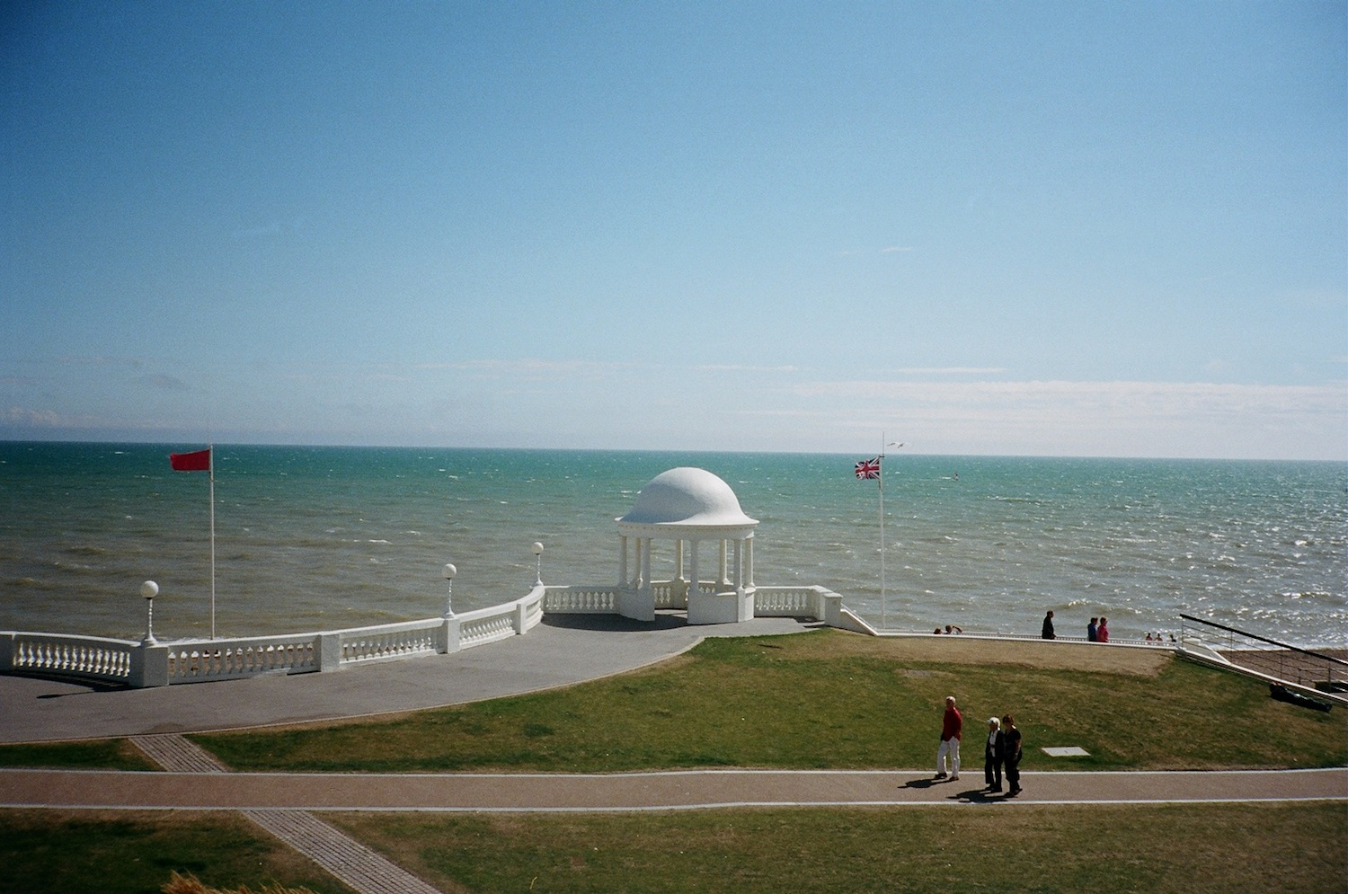 View from The De La Warr Pavilion. Photograph: Anastasiia Fedorova