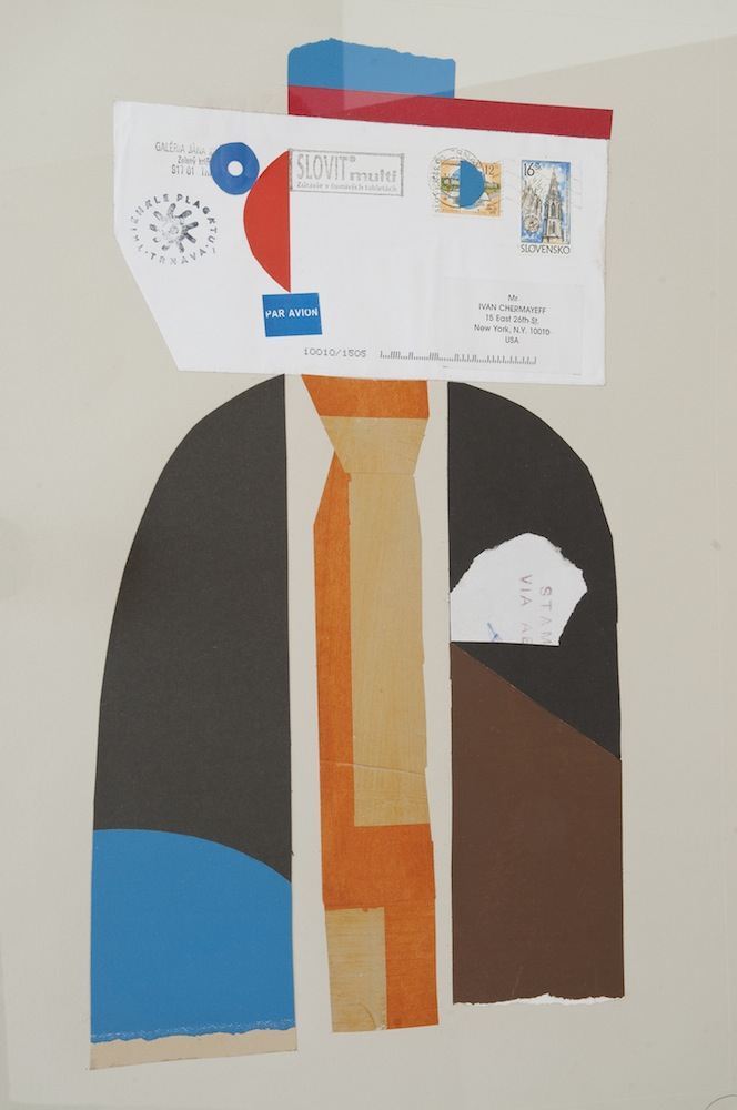 Doorman at the Lindenhof, collage, 1998