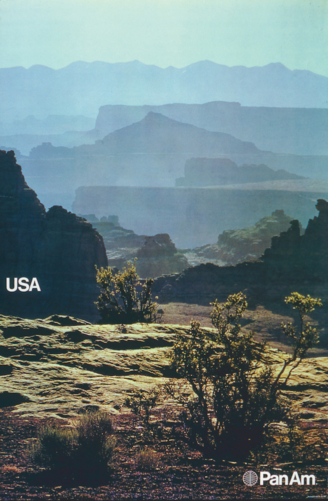 Pan Am USA poster