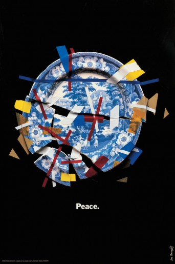 Peace Fragile World, Shoshin Society Poster, 1985