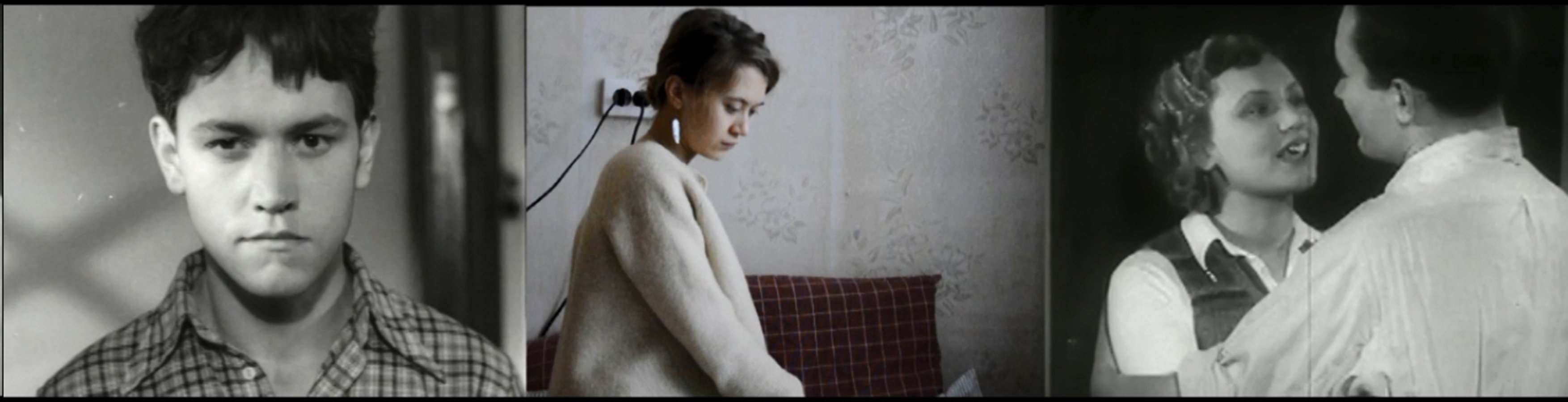 Still from the video Requiem for Romantic Love, 2015
