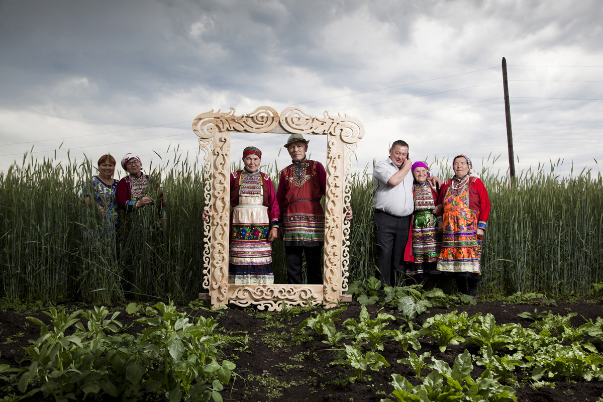 From the Ural Mari. There Is No Death project, 2018. In collaboration with Alexander Sorin and Natalia Konradova. This series is an exploration of the Ural Mari—Finno-Ugric indigenous people who live in Russia