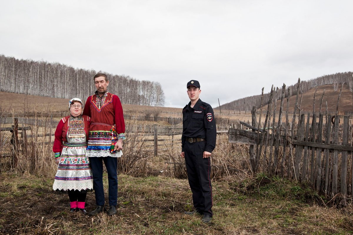 From the Ural Mari. There Is No Death project, 2018