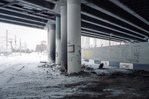 Urban scrawl: the Moscow edgelands where patriotism is writ large