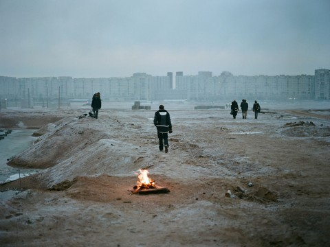 Inside the zone: otherworldly scenes from a Russian film set