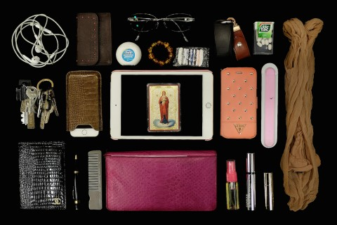 Sunglasses, sweets, a saw: just some of the delights in Russian women's bags