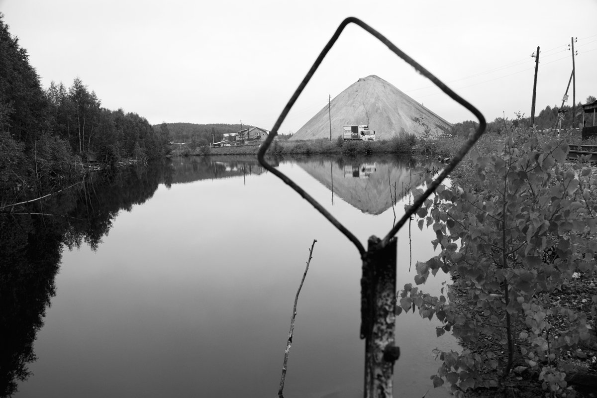 From the 36 Views project, 2017. The waste piles can be seen from almost anywhere in Degtyarsk