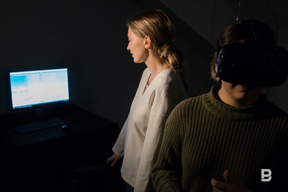 Stalk, 2018. This project is a critique of surveillance capitalist state of the 21st century. Players got an access to the VR space, in which they could track movements of the test group, just like authorities and tech companies do