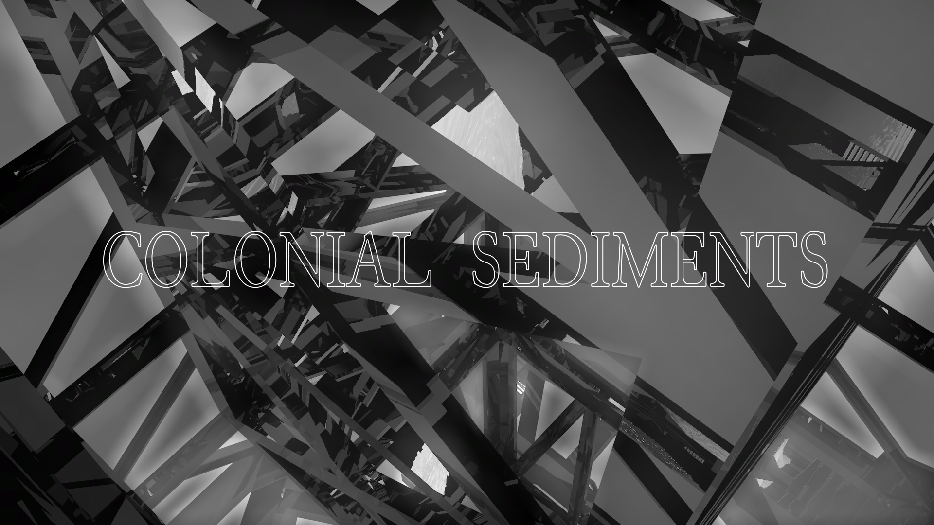 Still from the Colonial Sediments video (2020). Available during DEMO Moving Image Festival.