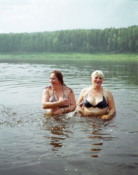 Girl's own: portraits from the Russian village that's no country for men
