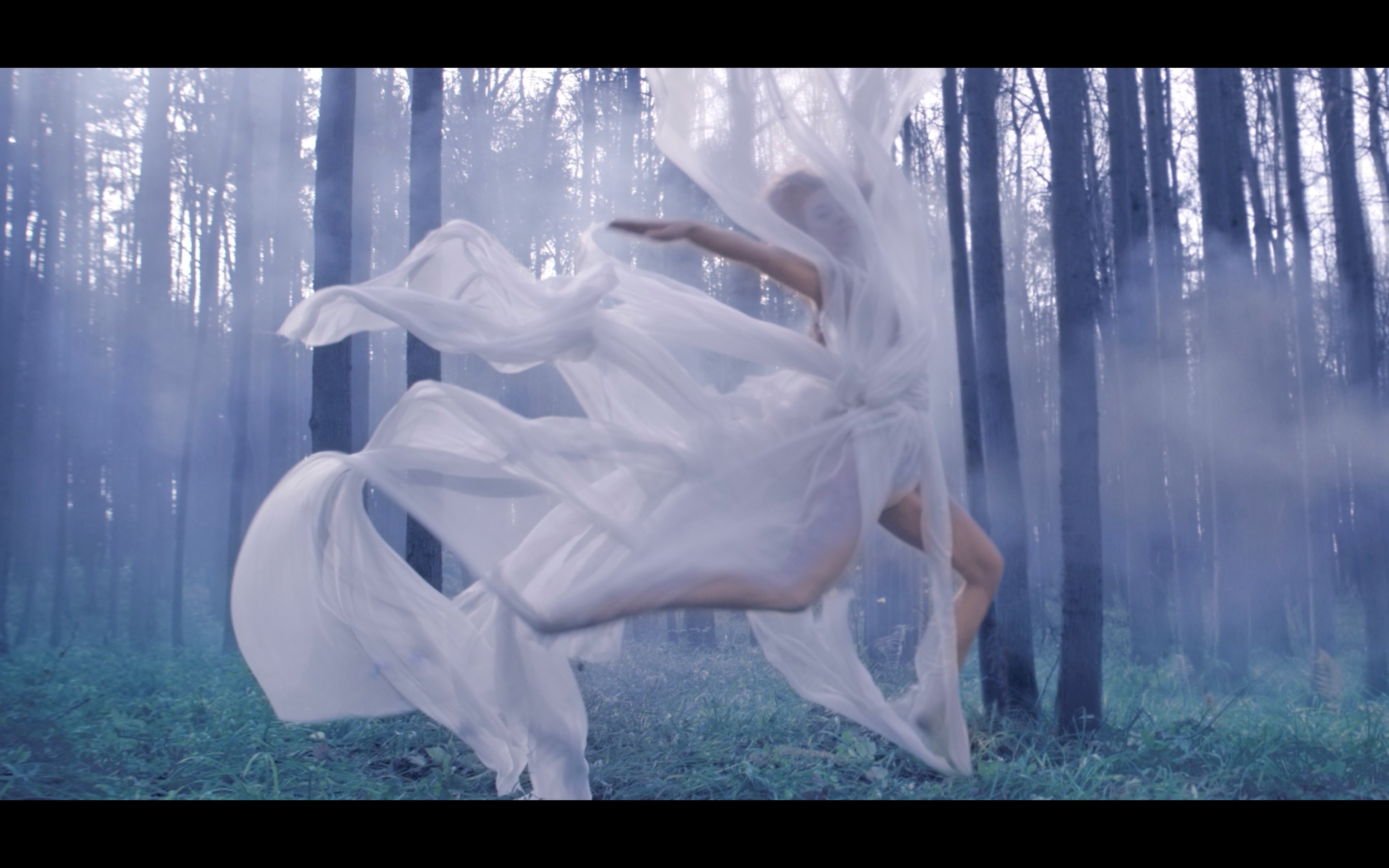 Still from the At Dawn video artwork, 2014