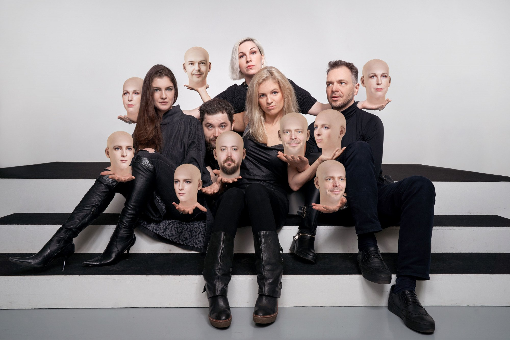 FACED2FACED performance team