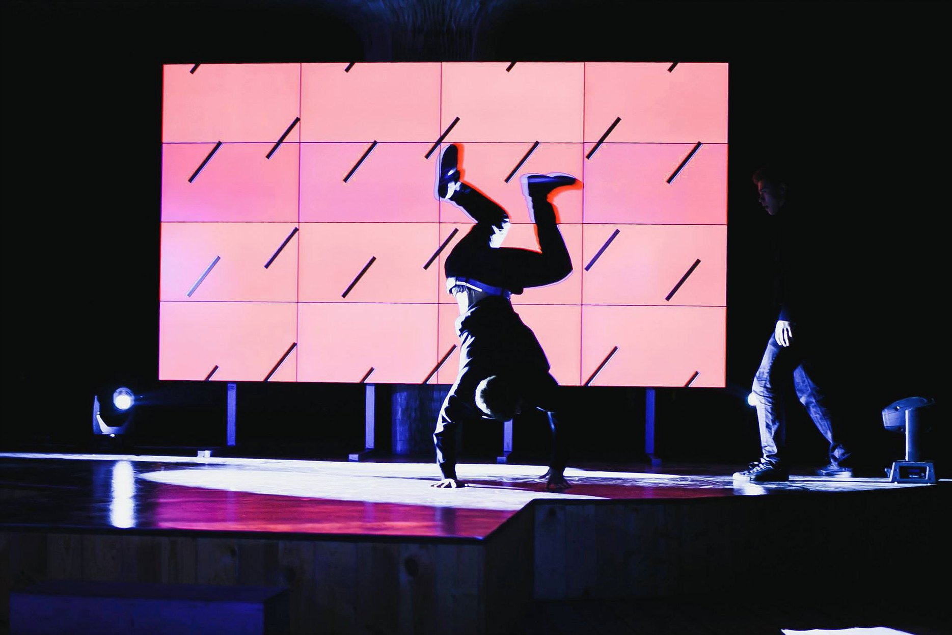 Poetry Moves performance, 2014