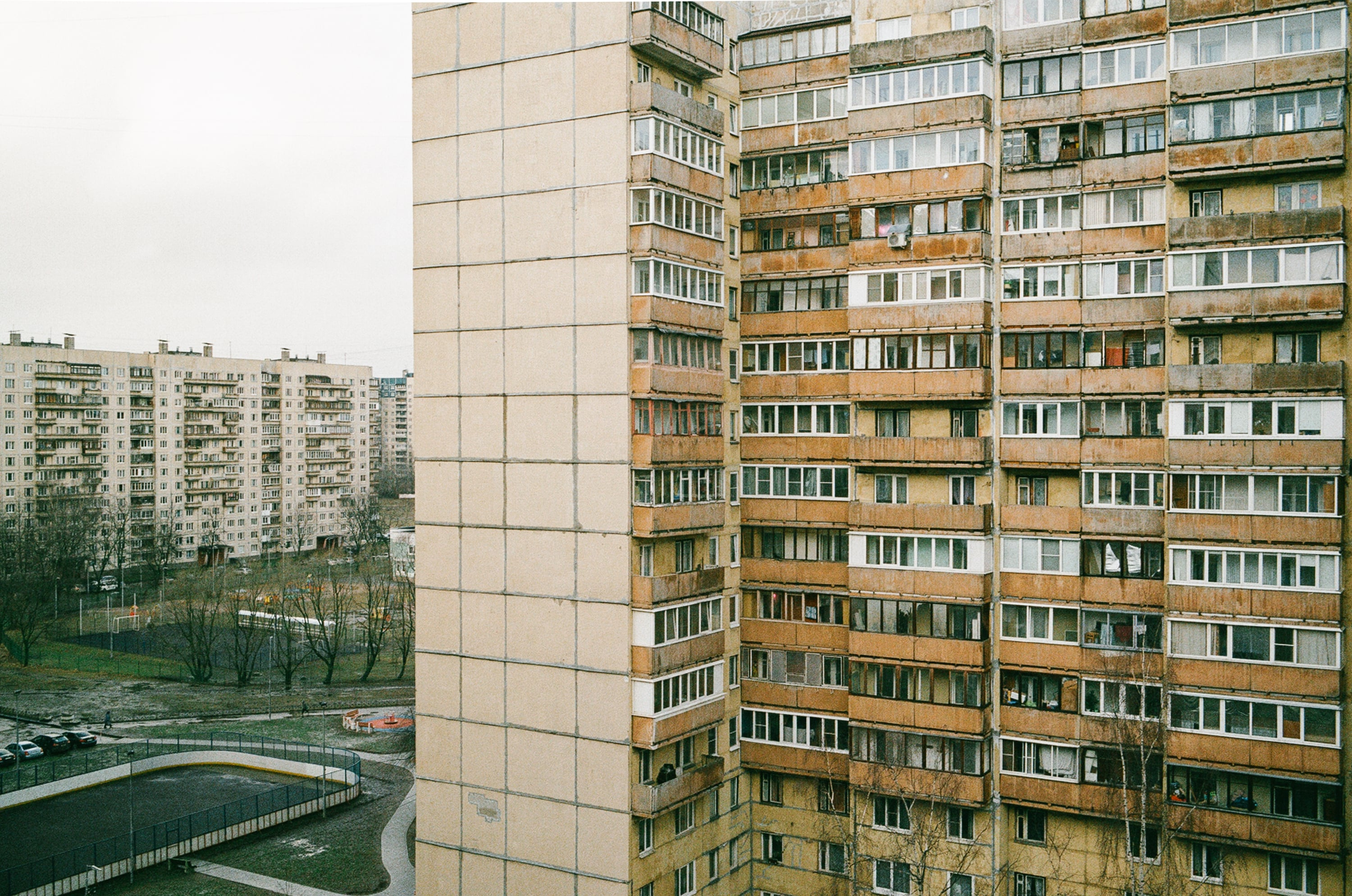 Social Housing. Youth Residential Complexes were residential projects created to solve the housing crisis in the late Soviet Union