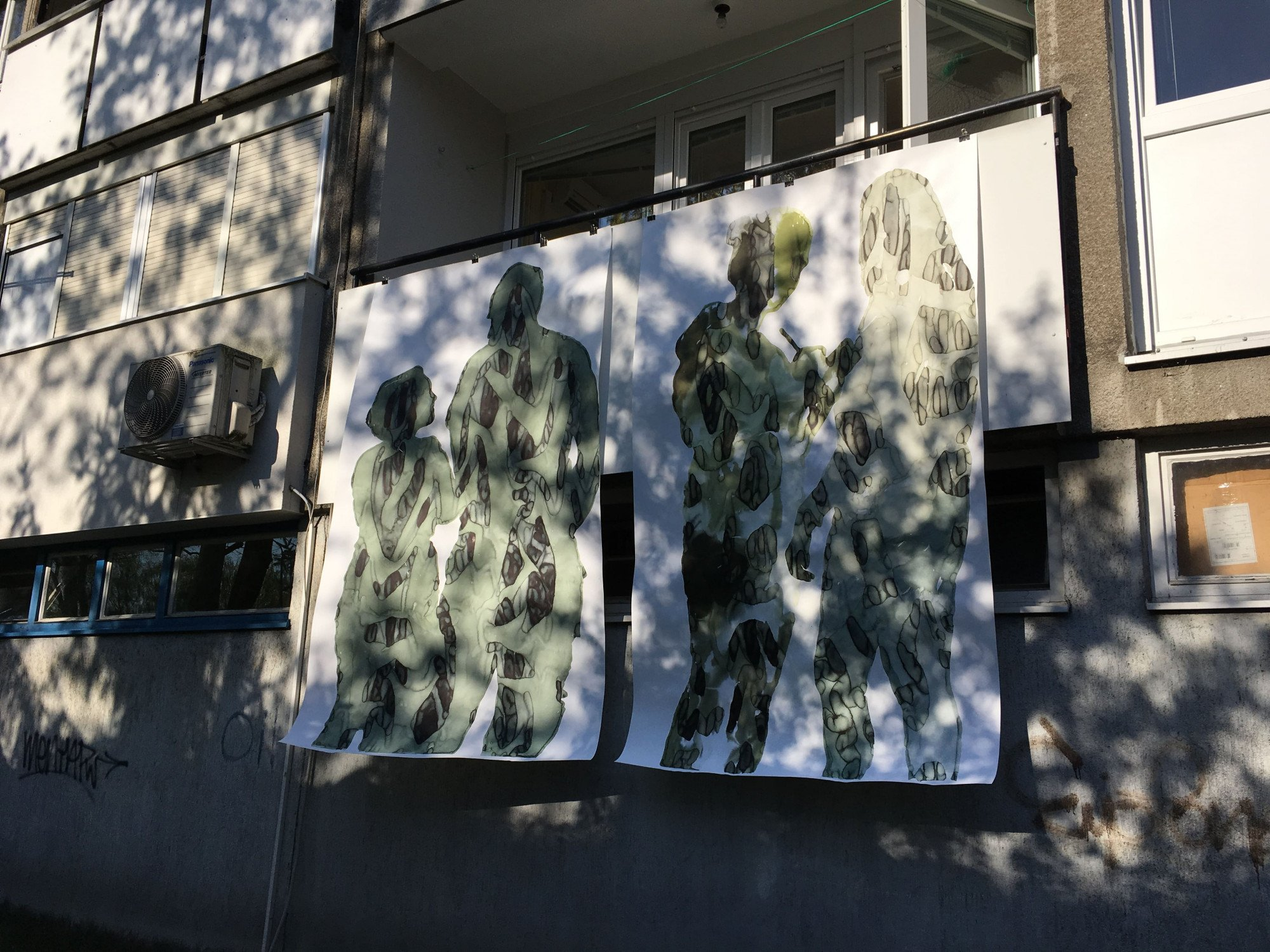 How to Become Invisible, 2020. Balcony Gallery, Zagreb