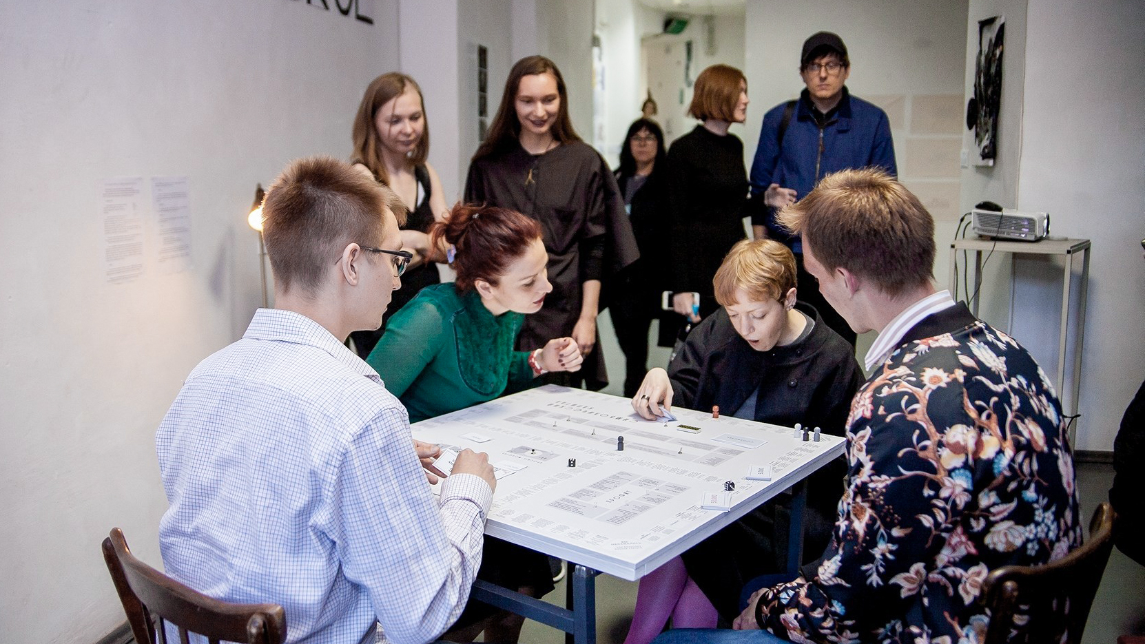 Symbolic Capital, 2018. This game allowed the participants to take a critical look at the connection between an artist and a foundation