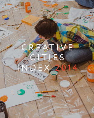 Creative cities index 2014