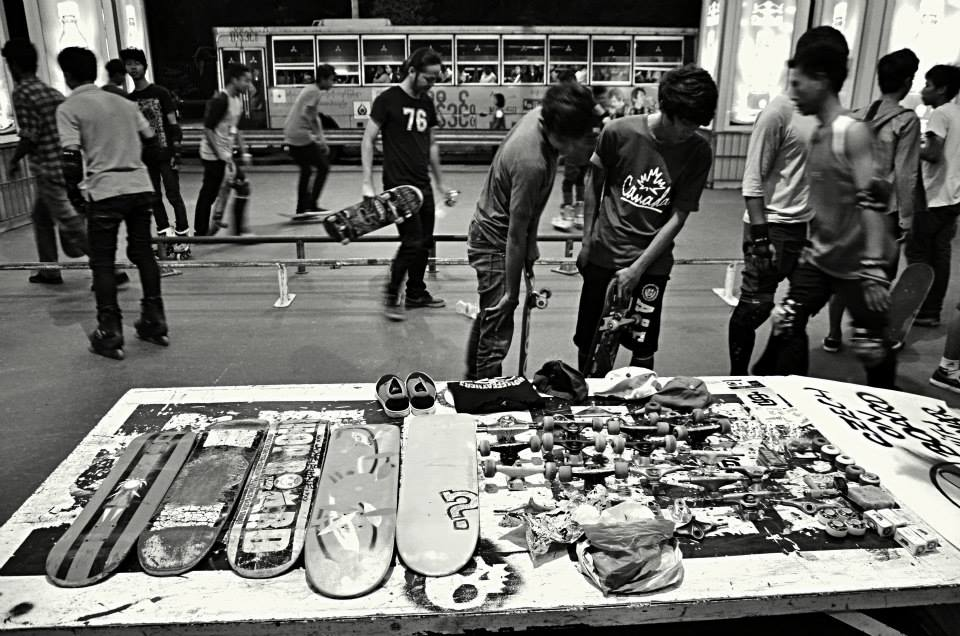 Meet the Czech enthusiasts committed to growing the Myanmar skateboarding scene