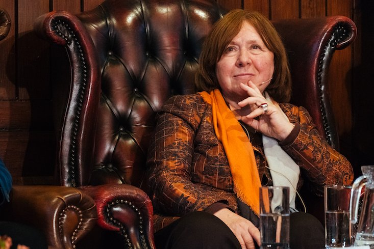 Russian news agency publishes unauthorised interview with Svetlana Alexievich