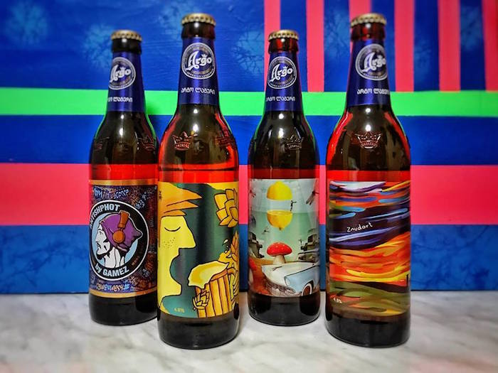 Georgian artists feature in limited edition Argo beer campaign
