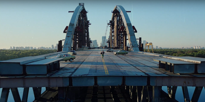 Diesel shoots new campaign on famous Kiev bridge