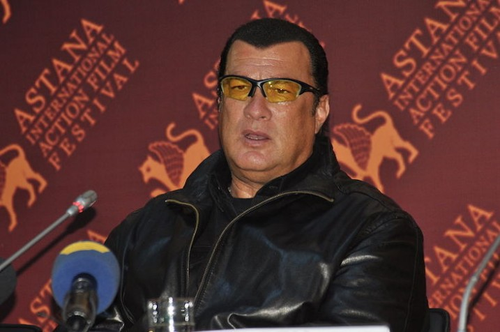 Hollywood star Steven Seagal to attend World Nomad Games