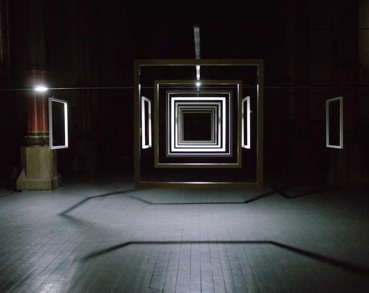 Installation by HC Gilje for the upcoming festival (Image: SIGNAL festival/ Facebook)