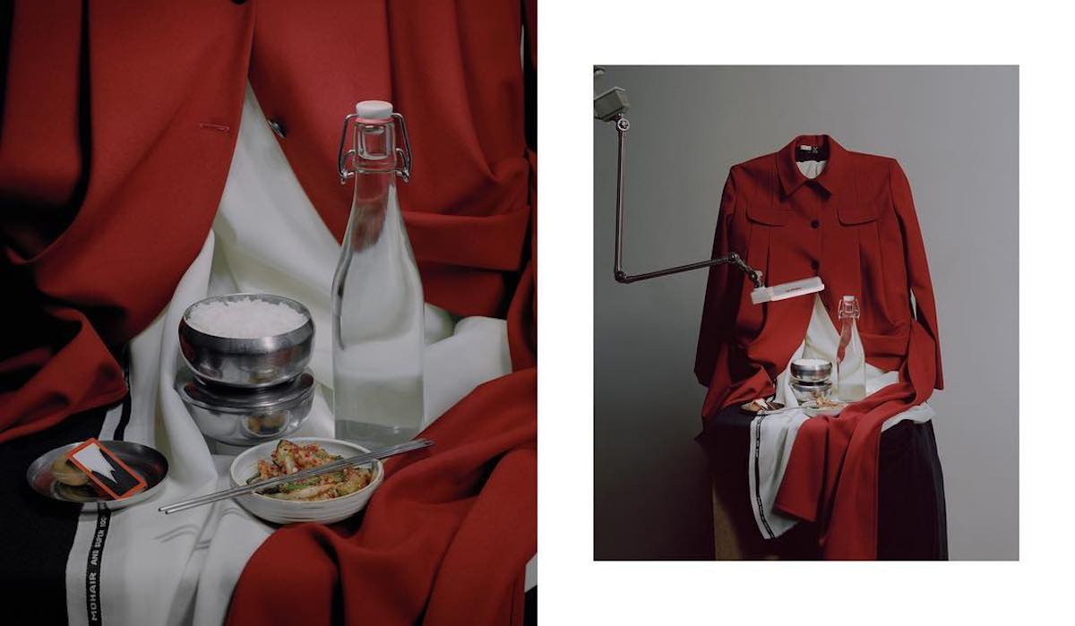 Moscow fashion label J.Kim premieres lookbook inspired by North Korean uniforms
